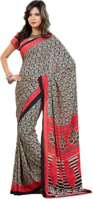 Krutika Printed Fashion Crepe Sari