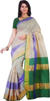 Shaarada Self Design Venkatagiri Cotton Sari