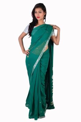 Ak designs Solid Fashion Cotton Sari
