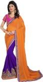 Shoppershopee Embroidered Shalu Georgett...