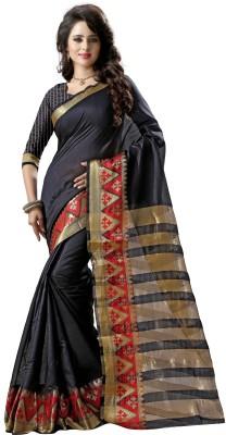 Fashionesta Self Design Fashion Silk Saree(Multicolor) at flipkart