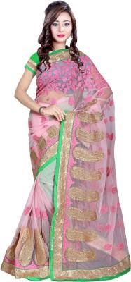 Kabira Embriodered Fashion Net Sari
