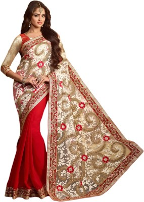 Roopleela Printed Bollywood Net Sari