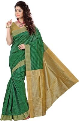 Vastrakala Self Design Fashion Cotton, Silk Sari