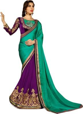 Kaali Fashion Self Design Fashion Chiffon Sari