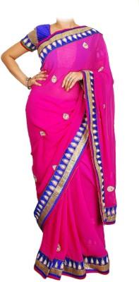 Zarigota Embriodered Fashion Chiffon Sari