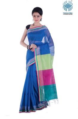 Tantuja Woven Tangail Silk Sari