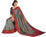 Ethino Printed Fashion Printed Silk Sari