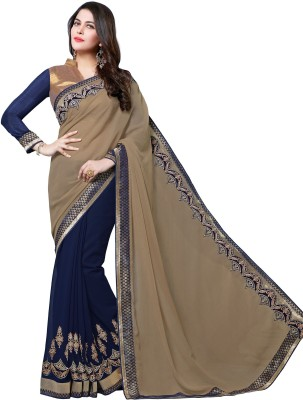 Nayonikaa Embriodered Bollywood Georgette Sari