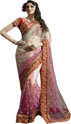 Saree Exotica Embriodered Fashion Net Sari