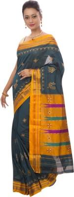Dhammanagi Embriodered Ilkal Handloom Cotton Sari