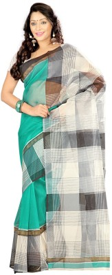 K D Collection Printed Daily Wear Net Sari