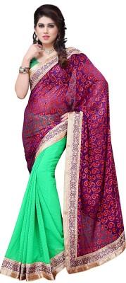 Online Adda Embriodered Fashion Brasso Sari