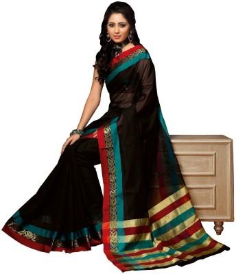 Srijati Striped Mysore Cotton Sari
