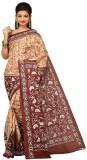 Darbari Self Design Kantha Silk Sari