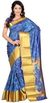 Uma Traders Embriodered Bollywood Pure Chiffon Sari
