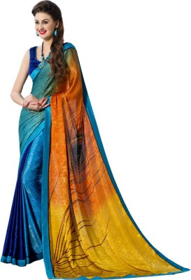 Mutiar Printed Fashion Crepe Sari