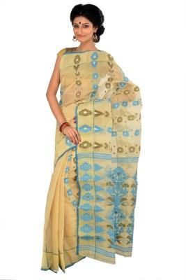 RKB Woven Jamdani Handloom Cotton Sari