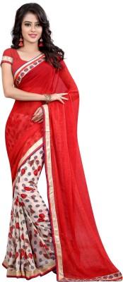 Arya Fashion Printed Fashion Georgette Sari