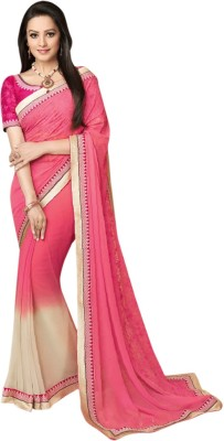 Brijraj Embellished Fashion Georgette Sari