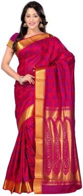 Soso Solid Kanjivaram Art Silk Sari