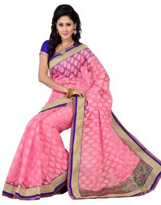 Parvati Fabrics Self Design Patola Jacquard Sari