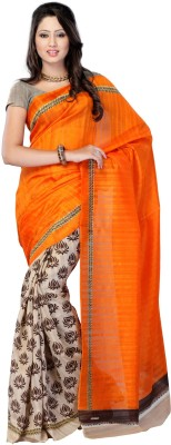 Sciocco Printed Fashion Art Silk Sari