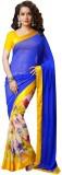 Hexo Printed Bollywood Swiss Dot Saree (...