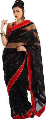 Shivam Fashions Self Design Fashion Net Sari