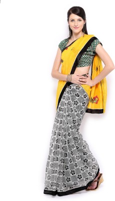 Anouk Embriodered Fashion Handloom Cotton Sari