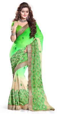 Premlaxmi Creation Embriodered Bollywood Chiffon Sari