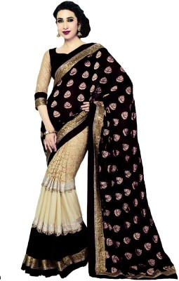 RoopMantra Embriodered Bollywood Georgette Sari