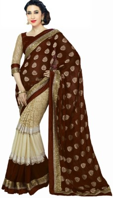7ELEVEN Self Design Fashion Viscose Sari