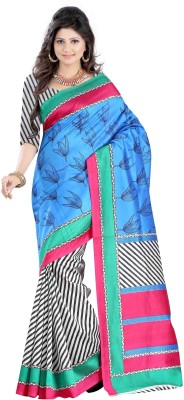 Fashion Fiasta Printed Bhagalpuri Art Silk Sari