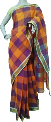 AS Collection Self Design Chettinadu Cotton Sari