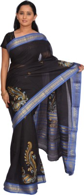 Siri Arts Printed Narayanpet Handloom Cotton Sari