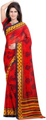 Lolla Fashion Printed Fashion Georgette Sari