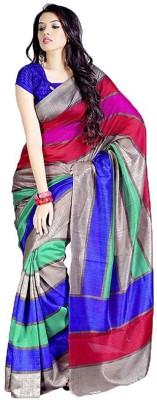 Radhika Sari Printed Bhagalpuri Handloom Art Silk Sari