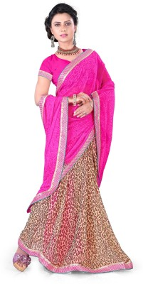 Sonia fashion Printed Fashion Georgette Sari