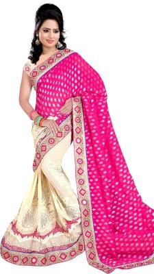 Anugrah Textile Embriodered Bollywood Chiffon Sari
