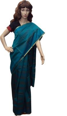 arya silks Printed Fashion Silk Cotton Blend Sari