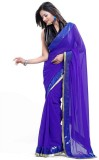 Zenny Creation Solid Bollywood Georgette...