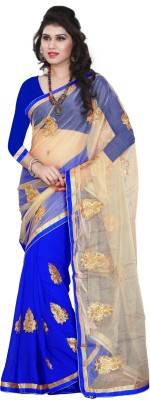 Lady Choice Embriodered Bollywood Chiffon Sari