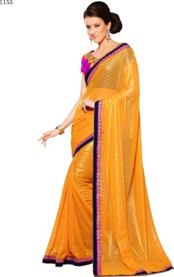 Allol Embriodered Fashion Georgette Sari
