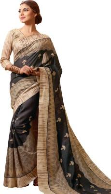 Velvetic Printed Fashion Poly Silk Sari
