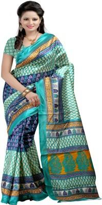 Kiran Textiles Printed Fashion Silk Sari