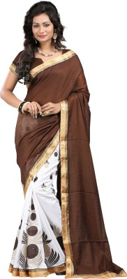 Karmafreshlooks Printed Bollywood Handloom Art Silk Sari