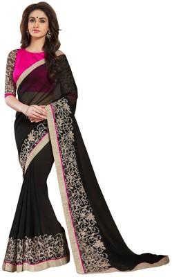 Nine Sister Embriodered Fashion Georgette Sari