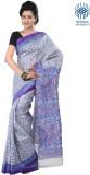 Tantuja Printed Fashion Handloom Silk Sa...