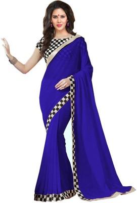 RadadiyaTRD Embriodered Bollywood Georgette Sari